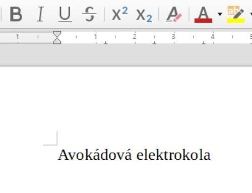 Nová verze české kontroly pravopisu Hunspell